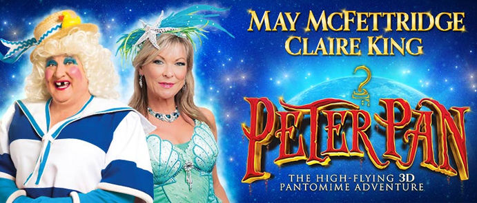 Claire King Peter Pan Banner